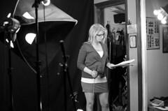 Behind the Scenes of La Loca Boca (Blumie the Koala) Tags: blackandwhite boston hour somerville behindthescenes filmmaking 48hourfilmproject michaeljepsteinmemoriallibrary 48hourfilmprojectboston lalocaboca