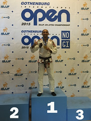 Cleyton Bastos Campeon del open de Gotemburg- Suecia 19-04-2015 Team Jucao spain