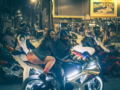 Chicago Nightlife (Albert Hidalgo Photography) Tags: chicago citylife crew thong nightlife crotchrocket