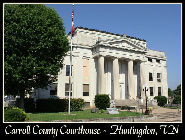 For Sale: TN Courthouse Postcard Collection: Carroll