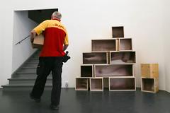 photoset: Galerie Steinek: Ilse Haider - le circuit heroesque (28.4.-3.6.2015)