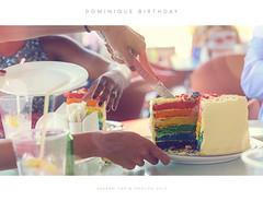 Dom Birthday (Hassam Tariq) Tags: birthday colors cake closeup nikon dubai uae d750 dxb bpkeh