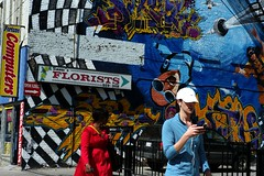 Mural (JVLam2012) Tags: leica 50mm market streetphotography m8 kensington summilux