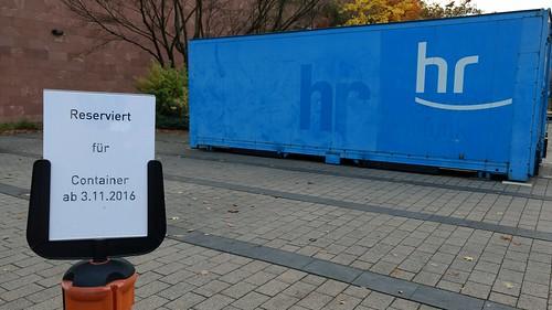Reserviert für Container - HR!