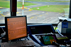 The tower of FLR / LIRQ Florence (La Pom ) Tags: florence firenze airport runway tower taxiway air trafic control