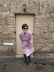 Burda / McCall's Shirt Dress mash-up (Chronically Siobhan) Tags: sewing craft handmade mccalls mccalls6696 burda burdastyle shirtdress retro vintage