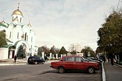 Street Shot - Tiraspol, Transnistria (KelSquire.GlobeCaptures) Tags: lada transnistria transdniestr communist street moldova