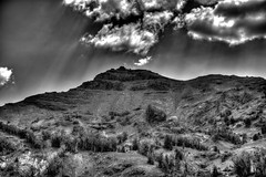 Sonora Pass View (Maxinux40k) Tags: 2014 august blackwhite california clouds d810 landscape mitchellcipriano nature nikkor nikon outdoors sky sonorapass summer monochrome mountain mountainpeak outdoor