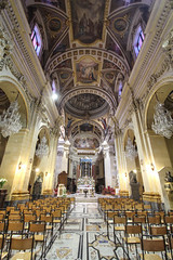Nave of Citadella Cathedral (Lawrence OP) Tags: citadella gozo malta cathedral nave