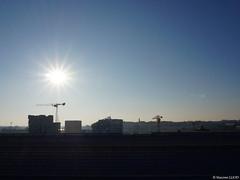 Nantes depuis les toits (Maxime Gury) Tags: architecture architektur architettura arquitectura building buildings le nantes ledenantes skyline machine grues grue