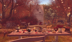 Autumn picnic (Violet.Inaka) Tags: ariskea ccdesign chezmoi cosmopolitan dustbunny fameshed goose hextraordinary jian merak panavia pilot raindale sau soy thor tlc treschic unkindness applefall