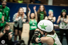 Skate of Glory 2016 (Orel Kichigai) Tags: roller derby wftda skate skaters game athlete sport europe belgium hit strong smile portrait baby girl tattoo coach photographer live jammer blocker report offical referee pink