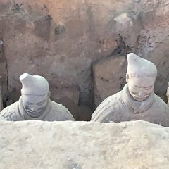 Terracotta Warriors (onemorestamp) Tags: silkroadseries terracottawarriors xian china silkroad