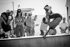 Venice Beach Skaters (James Billson) Tags: sk8 skateboarders skaters tricks bowl skating air beach venicebeach california sports activities monochrome blackandwhite canon 60d travel