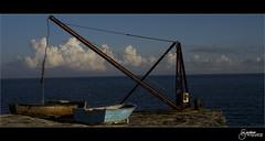 Portland Bill #2 (M Gardner Photography) Tags: portlandbill seaside shoreline landscape winch boats crane