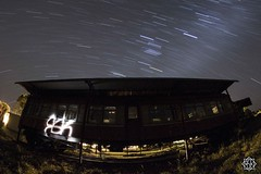 Train (MISHKA Vision - Light Graffer) Tags: australie australia lightpainting lightgraff longexposure expositionlongue nightphotography roadtrip