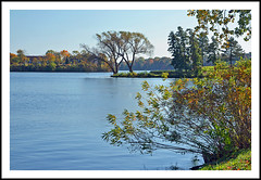 An Autumn Afternoon at Ypsilanti's North Bay Park (sjb4photos) Tags: michigan ypsilanti washtenawcounty fordlake northbaypark autumn