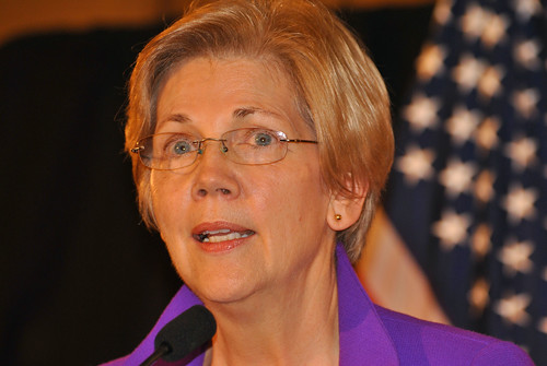 From flickr.com: Senator Elizabeth Warren {MID-163336}