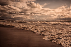 REMscape (limebluphotography) Tags: dream beach water waves shore foam breeze oft love ocean sea lake landscape remscape seascape nature travel weather sky clouds relax sand summer romance limeblu limebluphotography camera trending popular light shadow