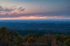 A View from Chilhowee (John Cothron) Tags: 3stopsoftedgegraduatedneutraldensityfilter 35mmformat 5dmarkii 5d2 5dii 5dmkii americansouth blountcounty canoneos5dmkii chilhoweemoutain cothronphotography distagon352ze dixie eastsouthcentralstates foothillsparkway johncothron lee90gs leefiltersystem maryville southernregion tennessee thesouth us usa unitedstatesofamerica volunteerstate zeissdistagont352ze autumn cloud clouds cloudyweather color digital dusk eveninglight fall landscape lights longexposure mountain mountaintop nature outdoor scenic sky sun sunset twilight img13718161106 johncothron aviewfromchilhowee