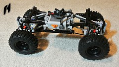 Crawler Truck Platform (Lego Technic) (hajdekr) Tags: lego technic legotechnic crawler truck wheels wheel rc powerfunctions powered 4x4 allwheels terrain platform base chasses chassis moc myowncreation creation