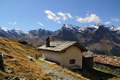 Val d'Aosta - Valsavarenche: vallone di Levionaz, la casa del Guardiaparco a Levionaz Dessous (mariagraziaschiapparelli) Tags: valdaosta valsavarenche levionaz casolaridilevionaz montagna mountain allegrisinasceosidiventa camminata escursionismo autunno pngp parconazionaledelgranparadiso