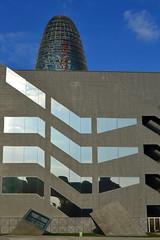 Torre Agbar, Barcelona, Catalonia, Spain (marc.desbordes) Tags: barcelona barcelone torreagbar jeannouvel