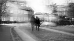 Sunday walk (krøllx) Tags: bw bakklandet icm midtnorge nidelva norway sh sørtrøndelag trondheim trøndelag akamphotowalk blackandwhite blurred city europa europe gamlebybro intentionalcameramovements menneske midtbyen monochrome movements norge people reflections rivernidelva scandinavia skandinavia street streetphotography streetphoto 20161106dsc06984201611061
