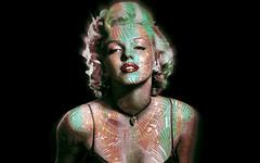 Maryline Monroe (funk-i francky) Tags: marylinemonroe icone photoshop inspiration