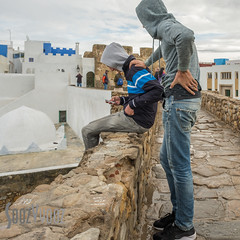 On the Walls at Asilah (Sue_Hutton) Tags: asilah maroc morocco november2016 autumn northernmorocco
