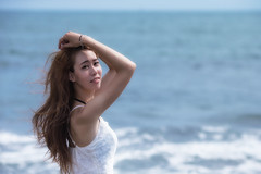 1DX_1123 (Chris Photography(王權)(FB:王權)) Tags: 1dx 2470lii ocean g girl