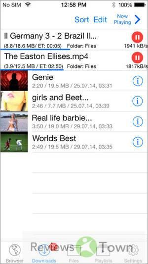 Top 10 iPhone Video Downloader Apps (iPhone 6s Supported)