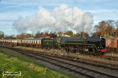 70013 Oliver Cromwell , Quorn & Woodhouse , GCR Gala , 19-11-2016 (Bri Hall) Tags: gcr greatcentralrailway thelasthurrah olivercromwell 70013 woodthorpe