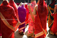 Pageant.    Ooty (Claire Pismont) Tags: asie asia inde india ooty ootacamund travel travelphotography tamilnadu woman women street streetshot streetphotography sari red pismont clairepismont viajar voyage documentory colorful couleur color colour walk walking
