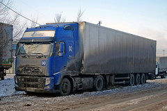Volvo FH 400   013  96 (RUS) (zauralec) Tags: kurgan street 1st may transport company lorriy volvo fh 400  013  96 rus