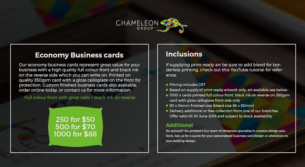 The worlds best photos by chameleon print group flickr hive mind print professional business cards chameleon print group australia chameleon print group tags reheart Choice Image