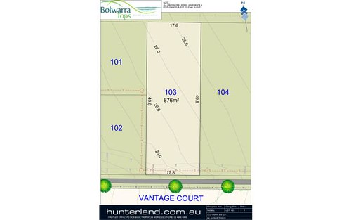 Lot 103 Vantage Court, Bolwarra Heights NSW 2320