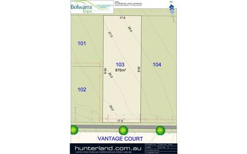 Lot 103 Vantage Court, Bolwarra Heights NSW 2320