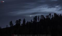 Moon in Layers (AQAS) Tags: supermoon moon jungle landscape sudhangali kashmir ajk pakistan