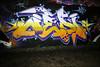 Ater (Alex Ellison) Tags: ater ctr cityrollers westlondon urban graffiti graff boobs trellicktower halloffame hof night