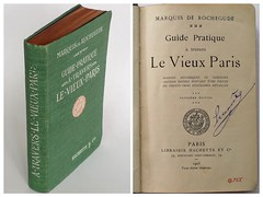 Guide pratique à travers le vieux Paris, 1905 (Kean105) Tags: livresanciens vieuxlivres antiquebooks paris guide histoire