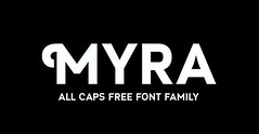 Download Myra 4F Caps free font (vectorarea) Tags: fonts freefontbest sansserif