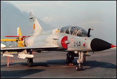 """MIRAGE 2000"" B 2-LD 508 Sion juin 1986 (paulschaller67) Tags: mirage2000 b 2ld 508 sion juin 1986"