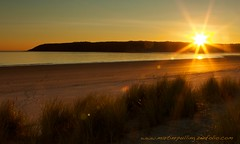 I watch the sun go down (welshmanwandering1) Tags: gower wales beach f22 canon sanddunes dunes
