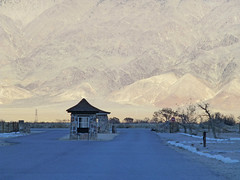 manzanar (army.arch) Tags: lonepine california ca manzanar concentration relocation internment camp japaneseamerican wwii worldwarii dishes stilllife dust entrance