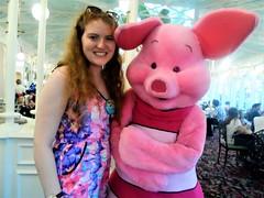 Florida 2016 (Elysia in Wonderland) Tags: disney world orlando florida elysia holiday 2016 magic kingdom crystal palace dinner winnie pooh characters dining plan buffet piglet meet greet lucy