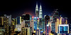 KL City by Night (w h i t e w i t h o n e) Tags: malaysia my kualalumpur kl city lights cityscape skyline buildings skyscraper bukitbintang night towers petronastwintowers
