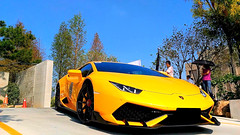 Lamborghini Huracán LP 610-4 (Wei-li Long) Tags: lamborghinihuracánlp6104 lamborghini huracán lp6104 coupe yellow supercar super car taiwan 臺灣 臺中 lambo