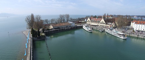 View from the lighthouse towards the railway station, 31.03.2012.