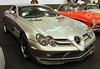 SLR (Schwanzus_Longus) Tags: essen motorshow motor show new modern car vehicle coupe coupé silver mercedes benz mclaren mc laren slr